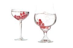 Bowl of fresh fruit Stock Image