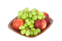 Bowl of fresh fruit Royalty Free Stock Photography
