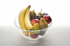 Bowl of fresh fruit Royalty Free Stock Photo