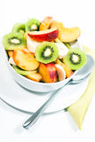 Bowl of fresh fruit V1 Royalty Free Stock Photo