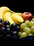 Bowl of fresh fruits Stock Image