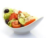 Bowl with fresh Greek Salad Royalty Free Stock Image