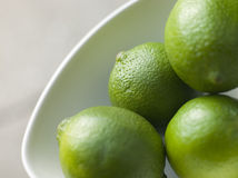 Bowl Of Fresh Limes Royalty Free Stock Photography
