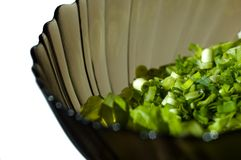 Bowl of fresh salad Stock Photos