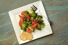 Bowl of fresh salad. Royalty Free Stock Images