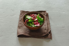 Bowl of fresh salad Royalty Free Stock Photo