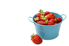 Bowl of fresh strawberries Stock Photography