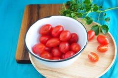 Bowl of fresh tomato Royalty Free Stock Photos