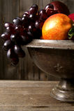Bowl of fruit. A still life photo of a bowl of fruit stock image