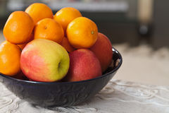 Bowl of Fruit Royalty Free Stock Photography