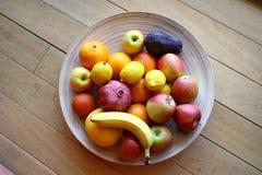 Bowl of fruit Stock Image