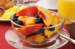 Bowl of fruit Stock Photography