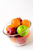 Bowl of Fruit (Apples and Oranges) Royalty Free Stock Photography