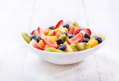 Bowl of fruit salad Stock Photography