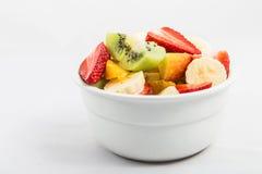 Bowl of fruit Royalty Free Stock Photos