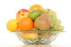 Bowl of fruits Stock Image