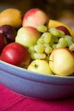 Bowl of fruits Stock Photography
