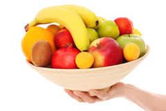 Bowl of fruits Royalty Free Stock Image