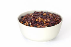A bowl full of beans Royalty Free Stock Image