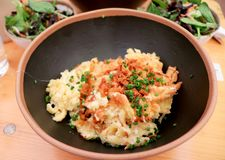 Fresh spaetzle in Germany royalty free stock images