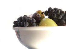 Bowl full of fruit Royalty Free Stock Photo