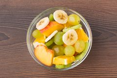Bowl full of fruits Stock Photos