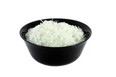 Bowl Full Of Coconut Meal Stock Photography