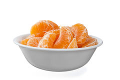 Bowl full of oranges Royalty Free Stock Photos