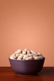Bowl Full Of Peanuts Royalty Free Stock Photo