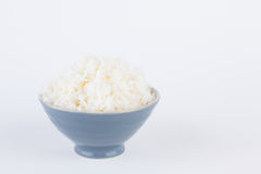 Bowl full of rice Royalty Free Stock Photography