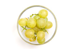 Bowl of grapes from Royalty Free Stock Image
