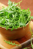 Bowl of  green, natural arugula Royalty Free Stock Image