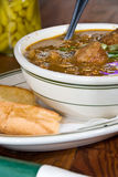 Bowl of gumbo Stock Photo
