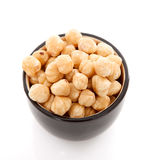 Bowl with hazelnuts Royalty Free Stock Image