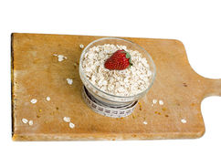 Bowl Of Healthy Oat Meal Royalty Free Stock Image