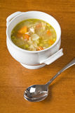Bowl of Homemade Chicken Soup Royalty Free Stock Image