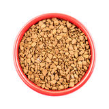 Bowl of instant coffee granules Stock Photos