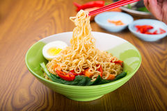 A Bowl of instant noodle Stock Photography