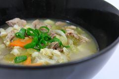Bowl of Irish Stew 4 Stock Images