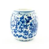 Bowl or jar in Thai design Royalty Free Stock Photo