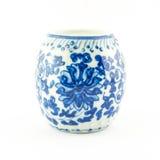 Bowl or jar in Thai design Stock Image