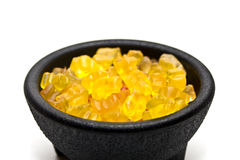 Bowl of jelly sweets Royalty Free Stock Photography