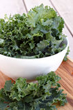 Bowl of Kale royalty free stock images
