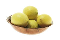 Bowl of Lemons Stock Photography