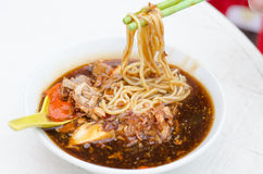 A bowl of Loh mee Royalty Free Stock Photography