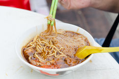 A bowl of Loh mee Royalty Free Stock Images