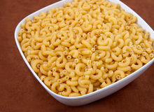 Bowl of macaroni Stock Image