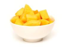 Bowl of Mango Stock Photography