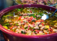 Bowl of Mexican salad Stock Photo