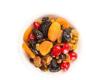 A Bowl Of Mix Dried Fruit IV Stock Photos
